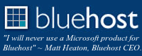 Bluehost. Affordable, reliable, Web hosting solutions