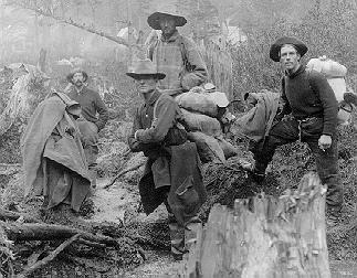 Klondike Gold Rush Prospectors